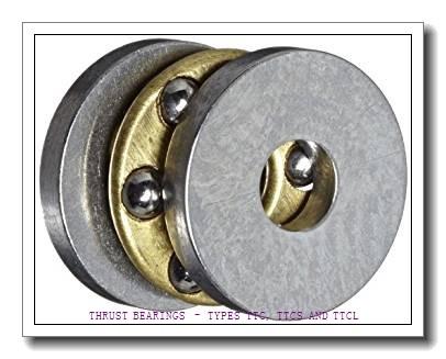 T4020 THRUST BEARINGS – TYPES TTC, TTCS AND TTCL