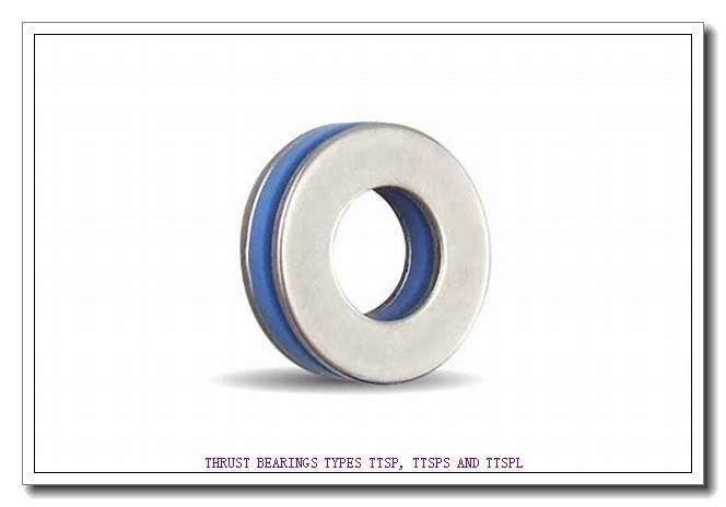 T82 THRUST BEARINGS TYPES TTSP, TTSPS AND TTSPL