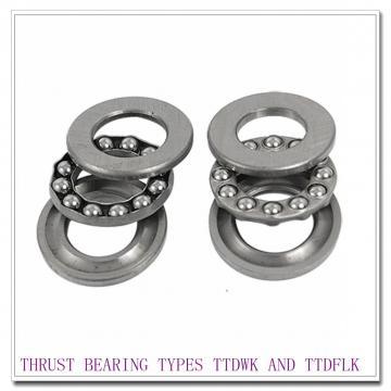 T660FAe THRUST BEARING TYPES TTDWK AND TTDFLK