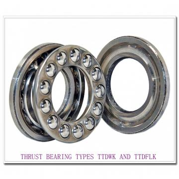 T7020e THRUST BEARING TYPES TTDWK AND TTDFLK