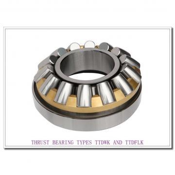 T8110e THRUST BEARING TYPES TTDWK AND TTDFLK
