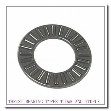 D3327G THRUST BEARING TYPES TTDWK AND TTDFLK