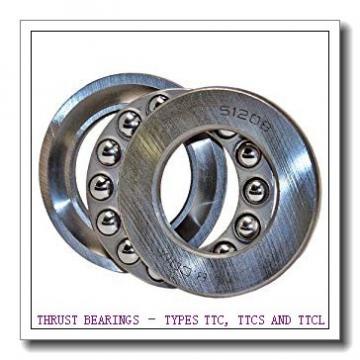 T163 THRUST BEARINGS – TYPES TTC, TTCS AND TTCL
