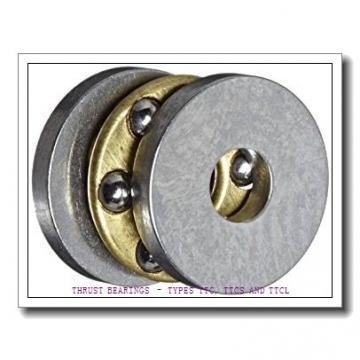 T136 THRUST BEARINGS – TYPES TTC, TTCS AND TTCL