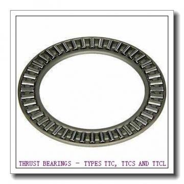 T1260 THRUST BEARINGS – TYPES TTC, TTCS AND TTCL