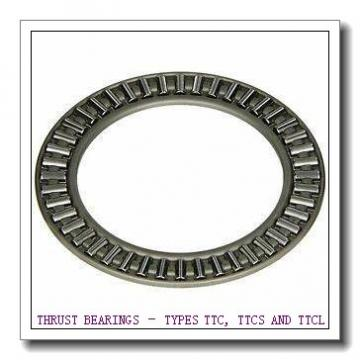 T402 THRUST BEARINGS – TYPES TTC, TTCS AND TTCL