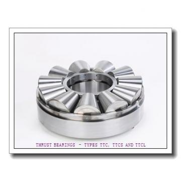 T127 THRUST BEARINGS – TYPES TTC, TTCS AND TTCL