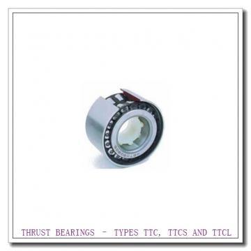 T188 THRUST BEARINGS – TYPES TTC, TTCS AND TTCL