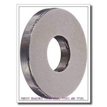 T76 THRUST BEARINGS TYPES TTSP, TTSPS AND TTSPL