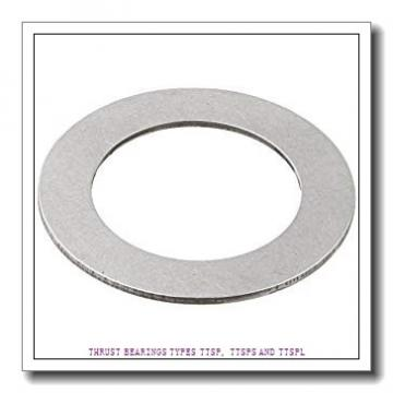 T93 THRUST BEARINGS TYPES TTSP, TTSPS AND TTSPL