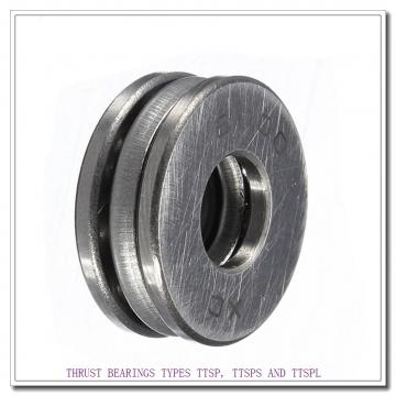 T114 THRUST BEARINGS TYPES TTSP, TTSPS AND TTSPL
