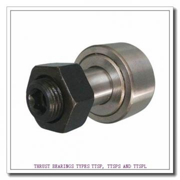 T76 THRUST BEARINGS TYPES TTSP, TTSPS AND TTSPL