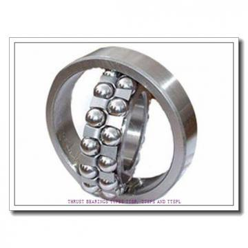 T104 THRUST BEARINGS TYPES TTSP, TTSPS AND TTSPL