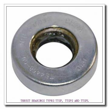 T114 THRUST BEARINGS TYPES TTSP, TTSPS AND TTSPL