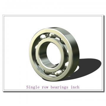 937XA/932 Single row bearings inch