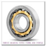 T1080FAe THRUST BEARING TYPES TTDWK AND TTDFLK